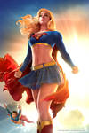 Supergirl cosplay by EnjiNight