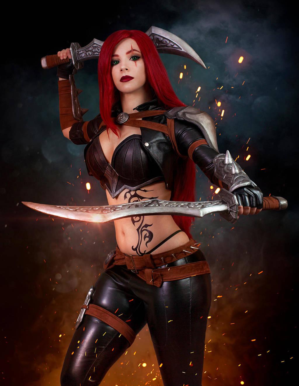 Katarina cosplay - League of Legends I. by EnjiNight