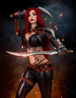 Katarina cosplay - League of Legends I. by EnjiNight