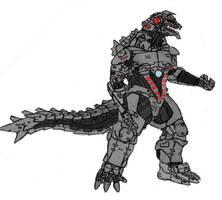 Godzilla US- MECHAGODZILLA by Gyaos2008