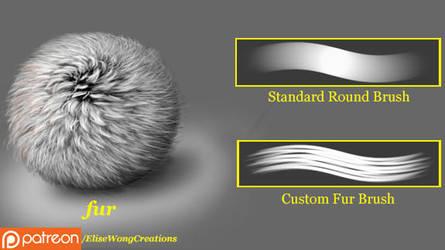 MS - Fur (Brush Set) by ewmh1