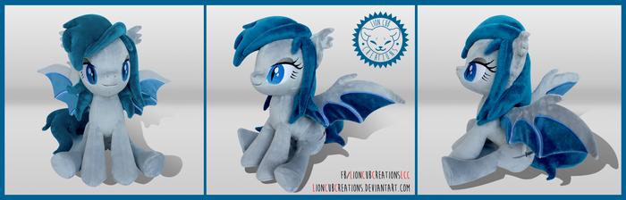 + Plush Commision: Bat Pony + by LionCubCreations