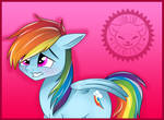 Time for Rainbow Dash by LionCubCreations