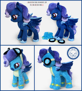 + Plush Commission: Wonderbolt OC + by LionCubCreations