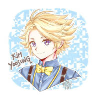 Yoosung from Mystic Messenger! by milkypasta