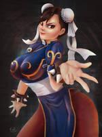 Chun-li by fiatkub