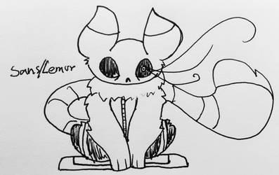 Sans/Lemur Mystery Hatch! by Mareena123