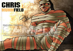 Chris Redfield is not red 3-1:Chris Mummfield by FlashConan