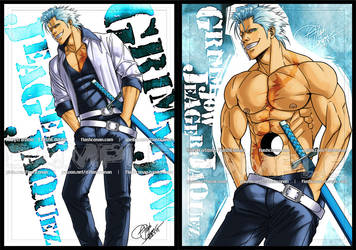 My Favorite Character(2-2): Grimmjow Jeagerjaquez by FlashConan