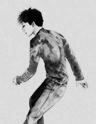 Gackt sketch by LarcDEAR