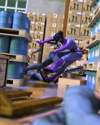 Tatiana and the Warehouse Caper III by dangerfan