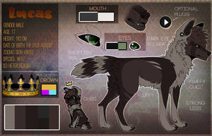 Lucas [Sona Reference Sheet] [2017] by Luklit