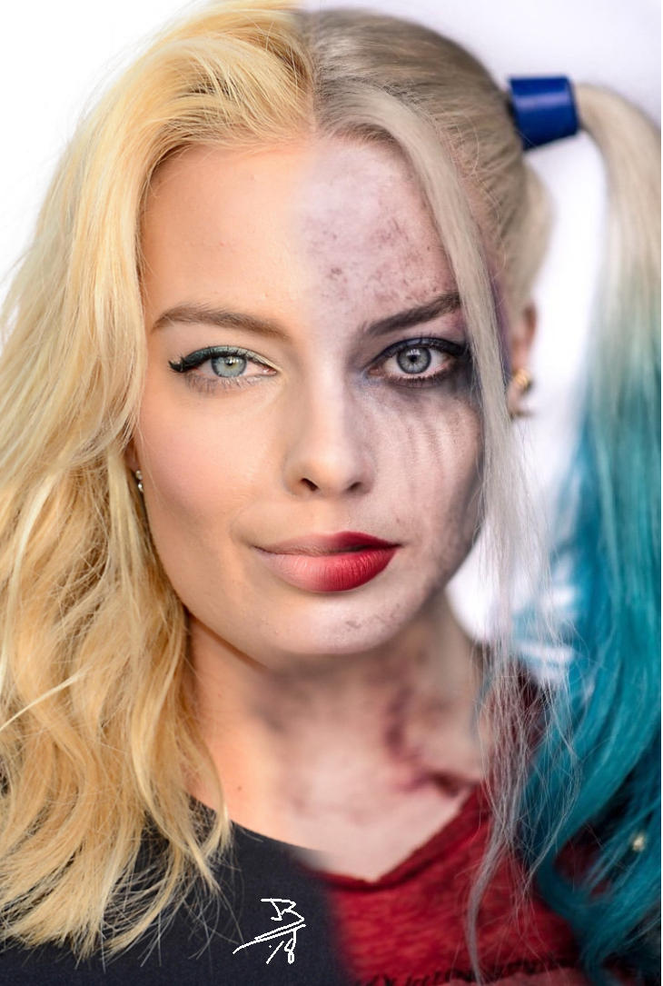 Harley Quin - Split personality by magigrapix