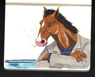 Bojack Horseman by kevinmccullough