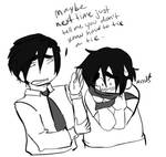 Eyebrow Brothers by TraitorOfSanity