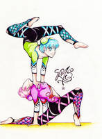 contortionists by RouzCoXx