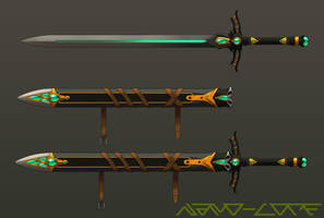Longsword Weapon Auction Adopt (closed) by Nano-Core