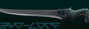 Ceremonial Dagger Drachensturm Commission by Nano-Core