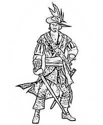 Male Swashbuckler Hero by Emresh