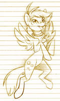 MLP::Derpy by Koshi-Doshi