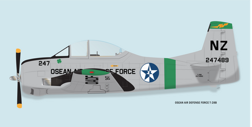 OSEAN T-28B Trojan Early by cillmevin