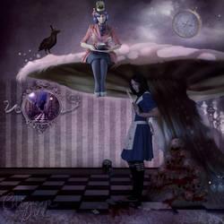 Twisting Wonderland: Heads Will Roll. by TheChimeraDoll