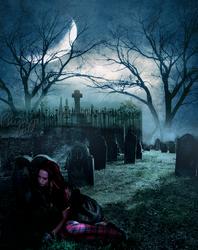 Graveyard Girl. by TheChimeraDoll
