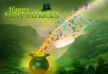 Saint Patrick's Day. by TheChimeraDoll