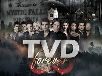 TVD (The Vampire Diaries) Forever. by TheChimeraDoll