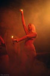 Fire Goddess by yama-dharma