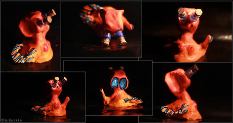 Orange Guy by yama-dharma