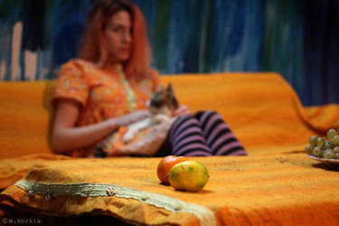 Hues of Orange by yama-dharma