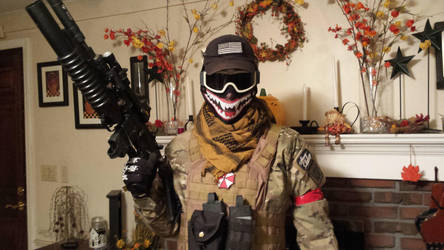 New Airsoft Mesh Mask by Wolf999679