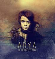 Arya Stark by galato