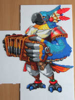 Asarim (Breath Of The Wild) - Perles Mini Hama by JeuxRage