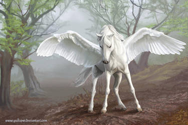 Pegasus by YuliaPW
