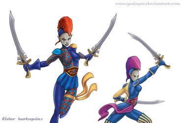Eldar: Harlequins by YuliaPW