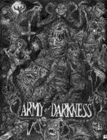 Army of Darkness- Black+white by Screamdreams101