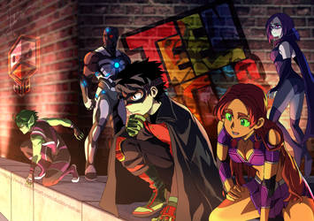 Teen Titans by DuckLordEthan
