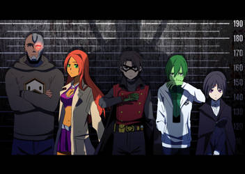 Teen Titans - The Usual Suspects by DuckLordEthan