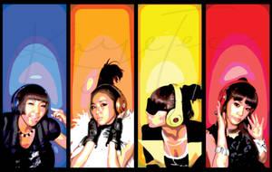 2NE1 by jpopqueen26