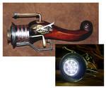 Steampunk pirate raygun by beelzebubby