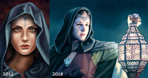 Cloaked: Then + Now by ti-DESIGN