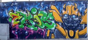 bumblebee all wall by KOREEE