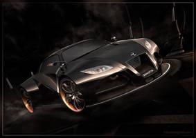 Concept Car - Black by 3DnuTTa