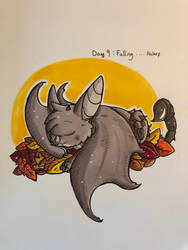Inktober day 9: Falling .... by Savage-Mojo