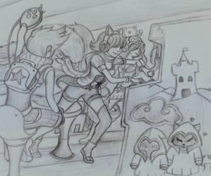 Arcade Ahri by SlownDamn