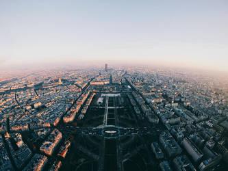 Top of Paris by Alexandre-Bordereau