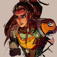Brigitte sketch by datcravat