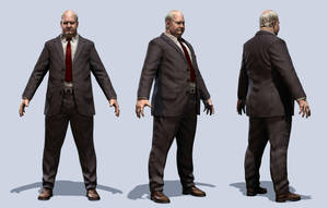 Fat Businessman AC by mojette